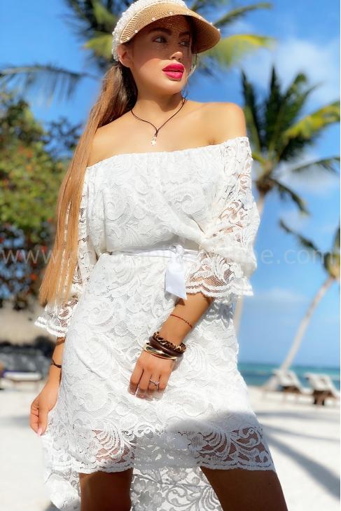 Рокля Vanilla White 012617