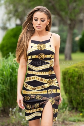 Рокля Goldie Versace