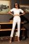 Панталон Slim White 032176 2