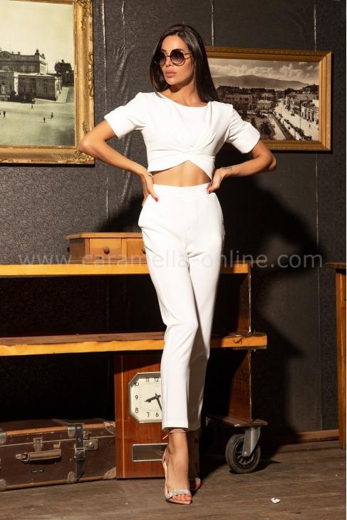 Панталон Slim White 032176