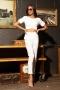 Панталон Slim White 032176 1