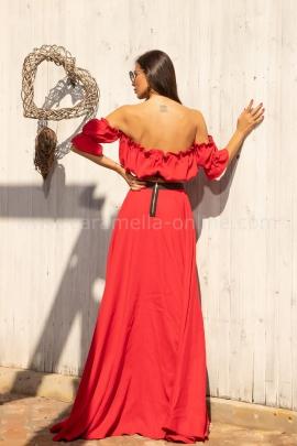 Сет Red Satin Linen