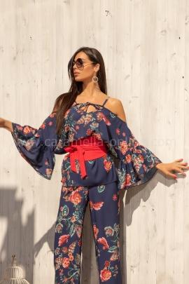 Туника Blue Kimono