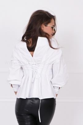 Риза White Corset