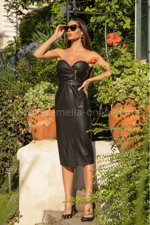 Рокля Lux Leather 012662