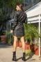 Рокля Leather Black 012672 2