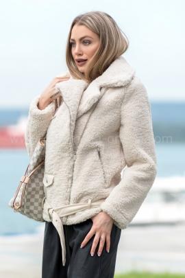 Палто White Deco