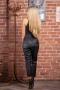 Кожен Панталон Just Black 032204 2