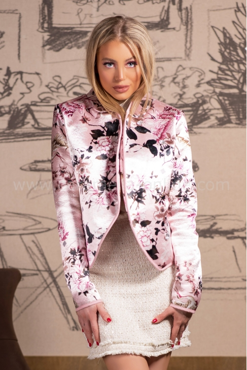 Палто Givanchy Pink 062077