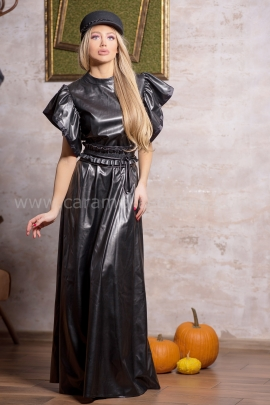 Рокля Leather Lux