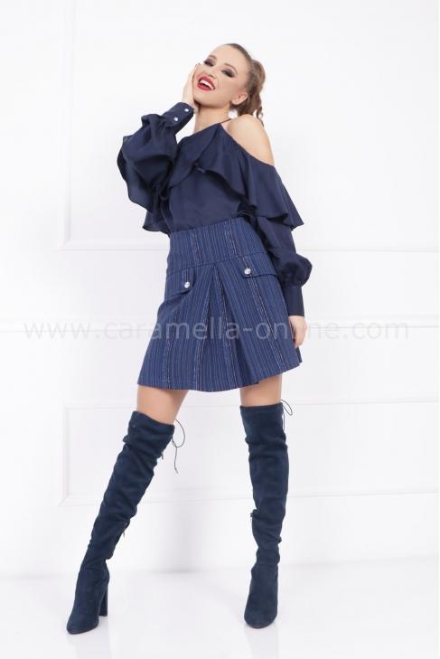 Пола Blue Rouche 032223