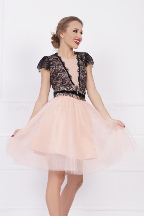 Рокля Peach Tull 012686