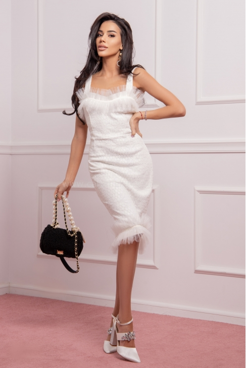 Рокля White Fashion 012690