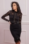 Блуза-боди Black Lace 022512 1