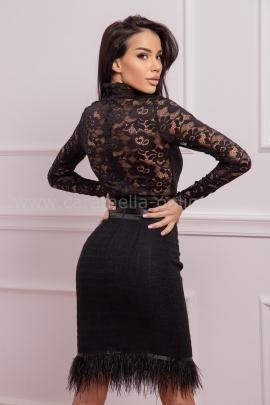 Блуза-боди Black Lace