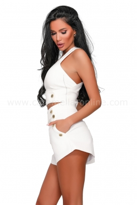 Къси панталонки Lady White