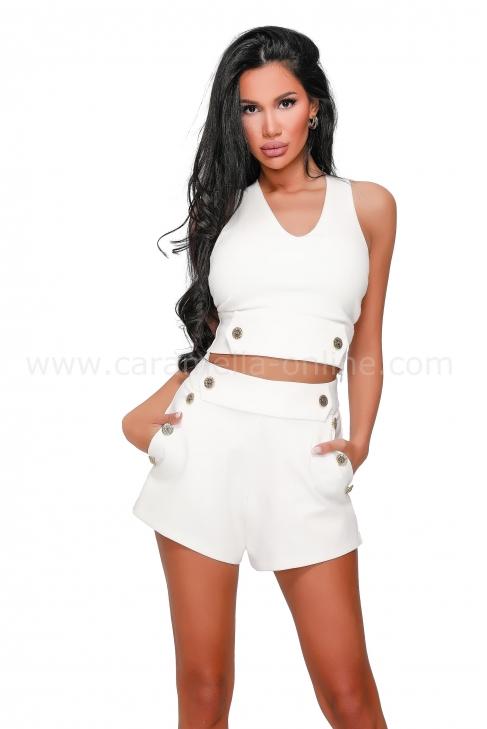 Къси панталонки Lady White 032233