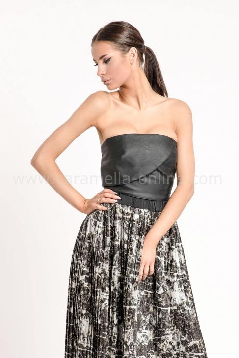Кожено бюстие Luxury Leather 022526