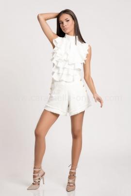 Къси Панталонки Verano White