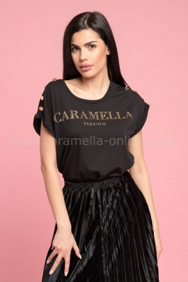 Блуза Caramella Black Gold