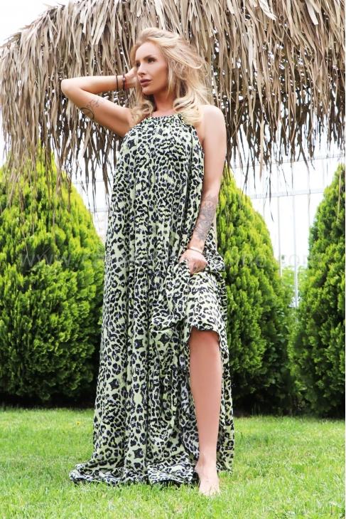Рокля Green Leopard