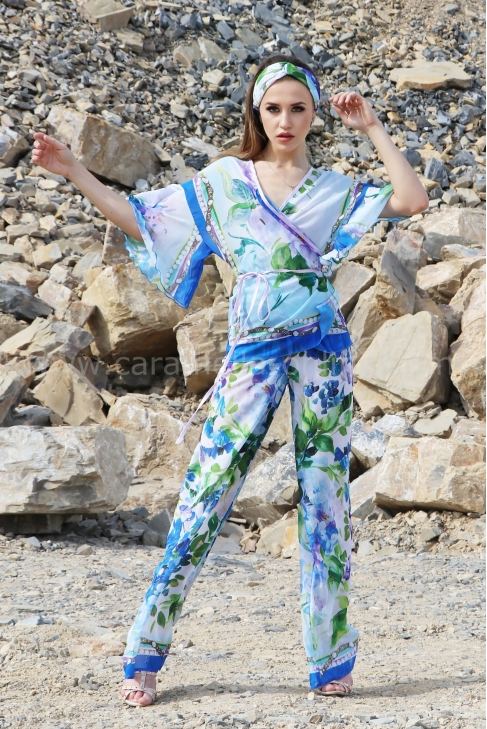 Сет Royal Blue Silk 082183