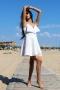 Рокля White Dress 012728 3