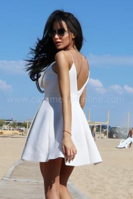 Рокля White Dress