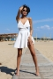 Рокля White Dress 012728 8