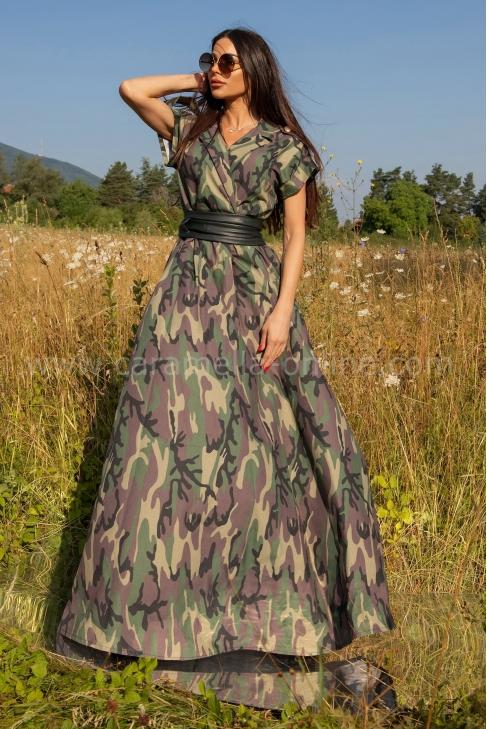 Рокля Camouflage Denim 012729