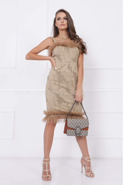 Рокля Nude Fashion 012746