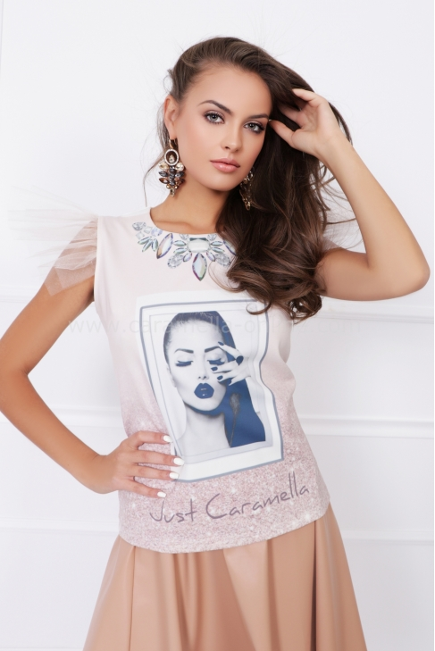 ТОП WHITE LADY CARAMELLA 022555