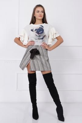Пола Boucle Black&White