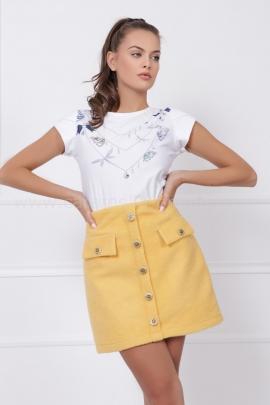 Пола Yellow Wool