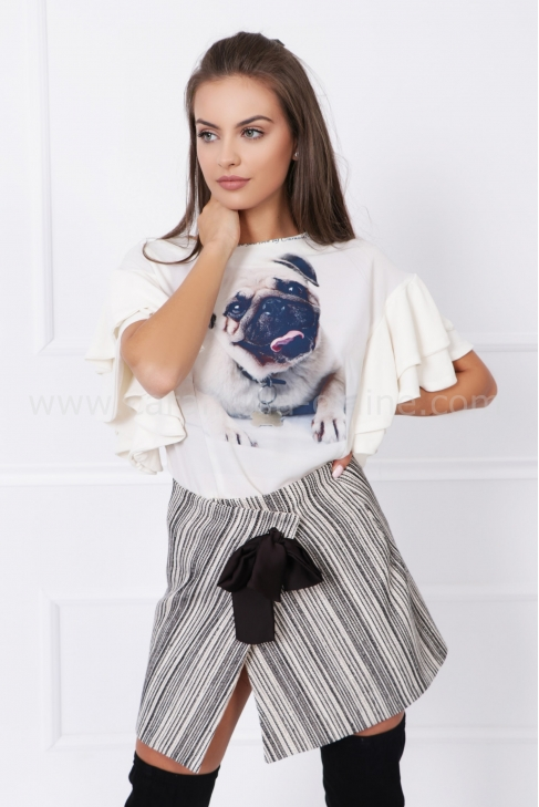 Блуза от шифон Mops 022559