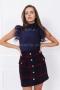 Блуза - боди с пера Blue star 022563 4