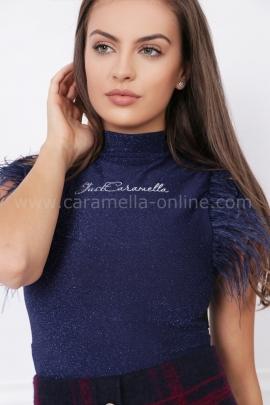 Блуза - боди с пера Blue star