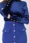 Блуза от кадифе Blue shine 022565 4