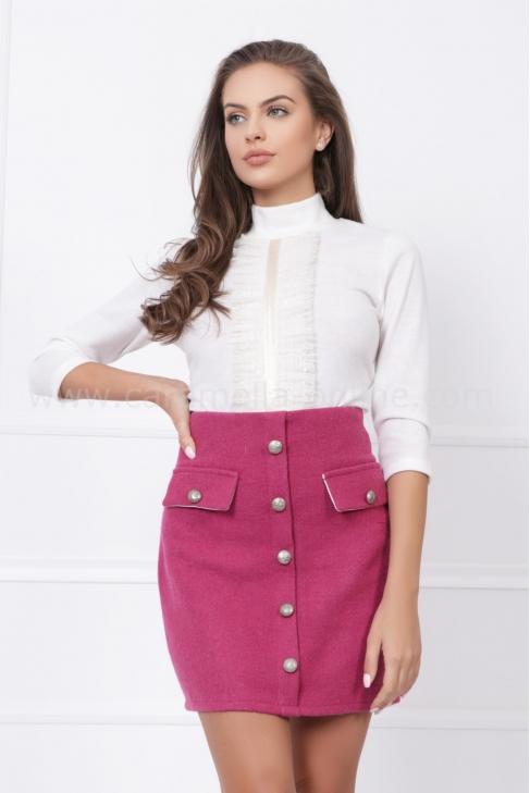 Блуза от плетен кашмир Moon 022566