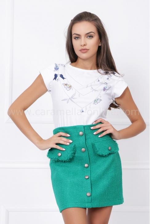 Пола Green Boucle Wool 032256